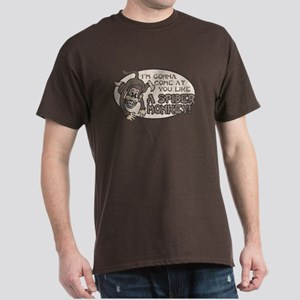 Spider Monkey [Talladega Nigh Dark T-Shirt